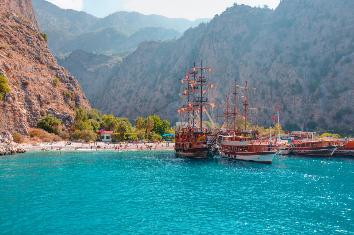 Best places to visit in Turkey - Oludeniz copyright muratart - European Best Destinations