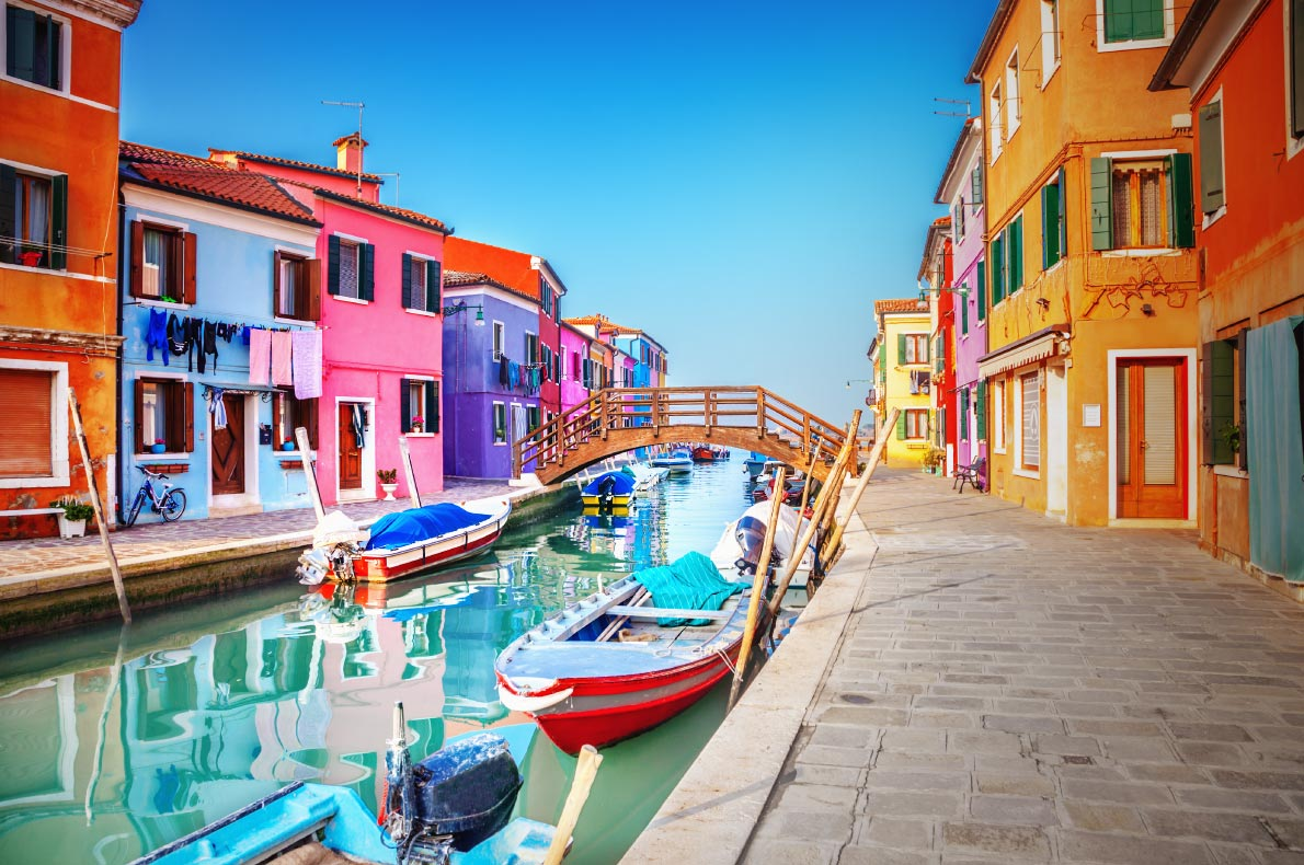 Best hidden gems in Italy - Burano Copyright  Adisa- European Best Destinations