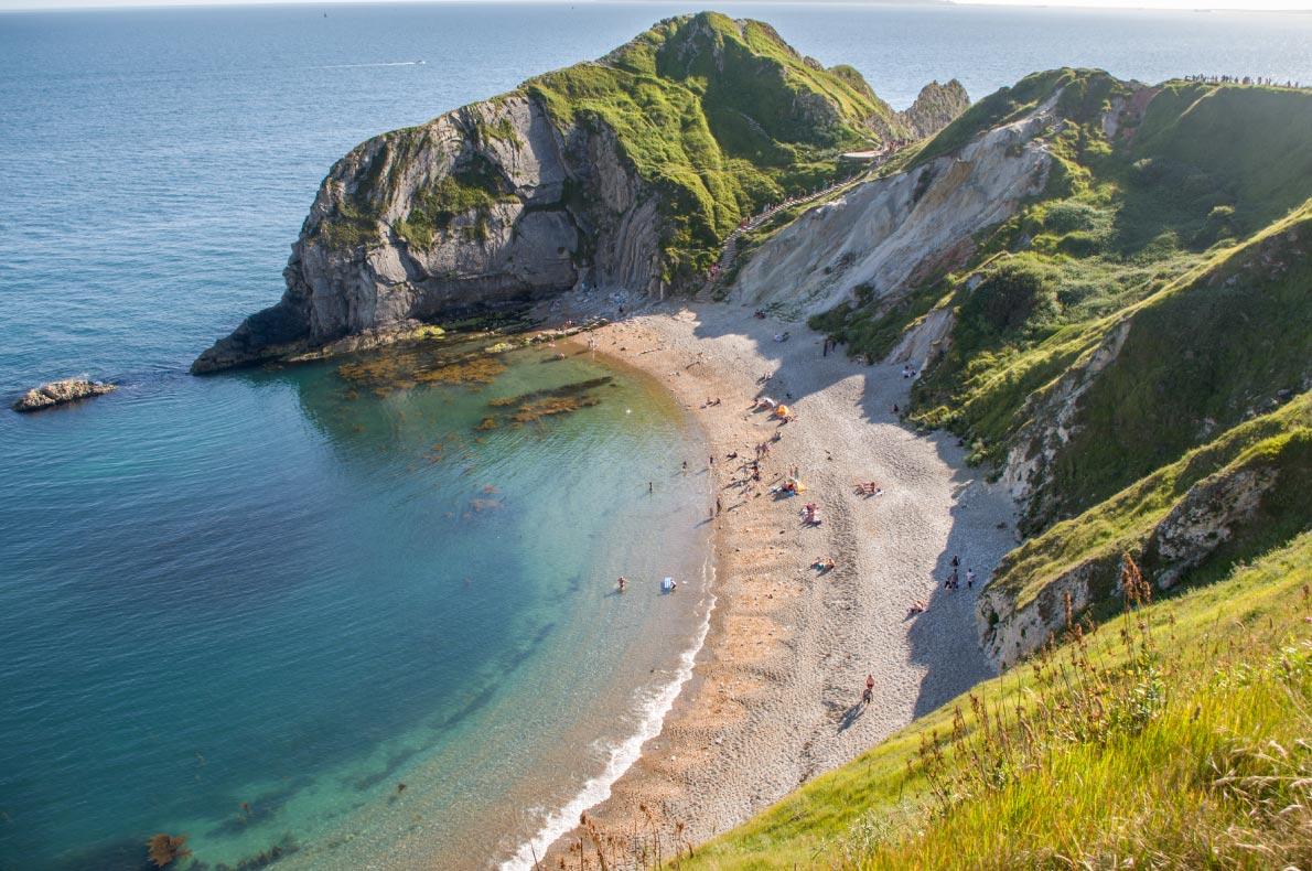 Best beaches in England - Man of War Bay Copyright  M Sosnowska - European Best Destinations