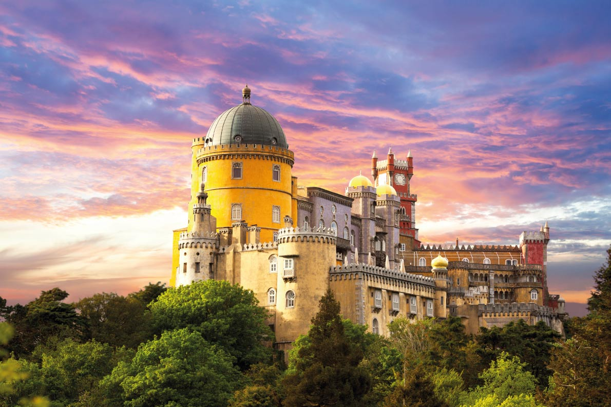 Colorful destinations in Europe  - Sintra - Best colorfull destinations in Europe - Copyright Taiga - European Best Destinations