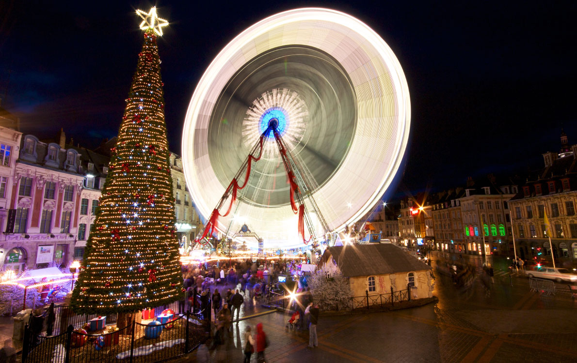 Best Christmas Market in France - Christmas-market-in-Lille-France-Copyright Rod20