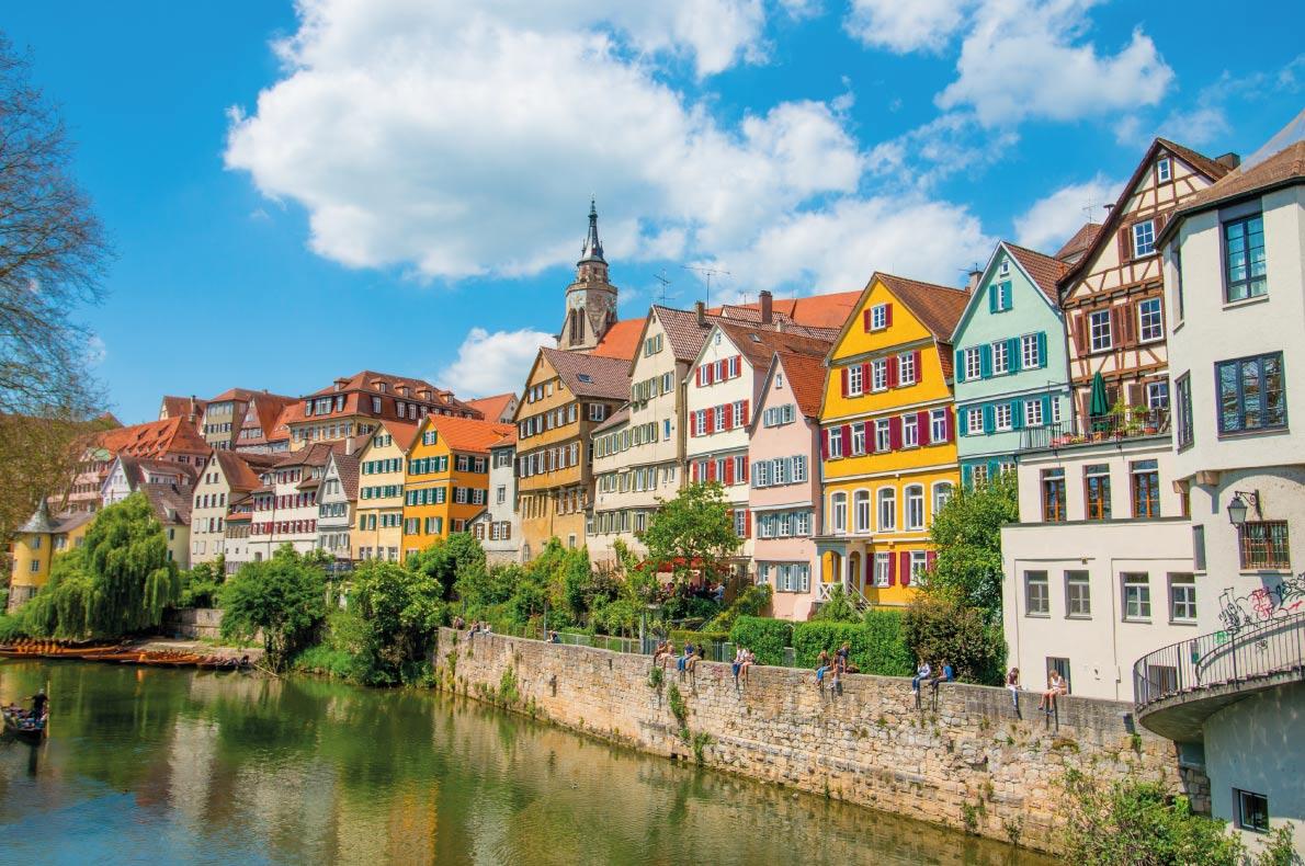 Quietest destinations in Europe -  Stuttgart Copyright  poporing
