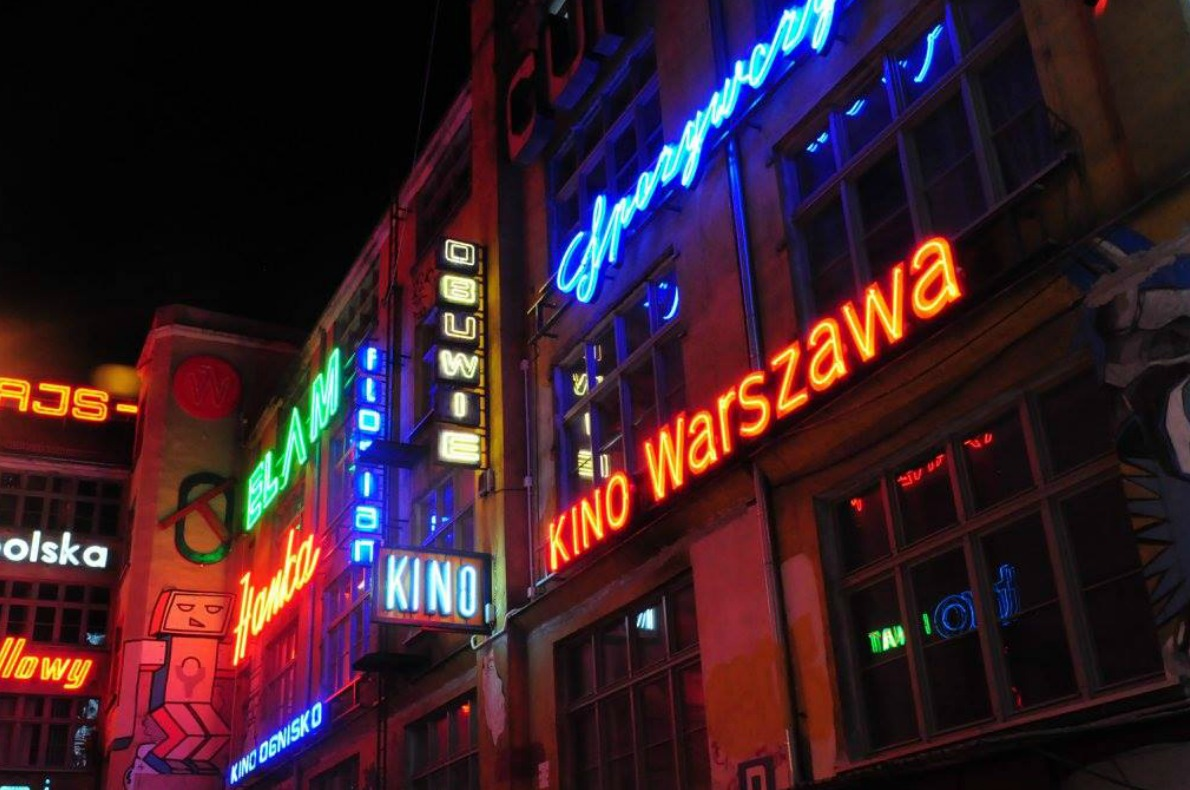 Neon Side Gallery Wroclaw Copyright Haze photos