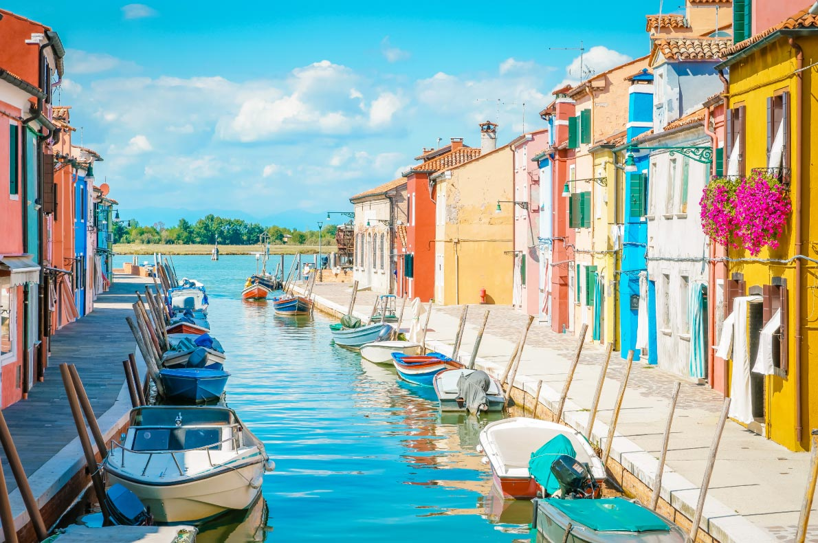 Most romantic destinations for Valentine Day in Europe - Burano copyright fokke-baarssen - European Best Destinations