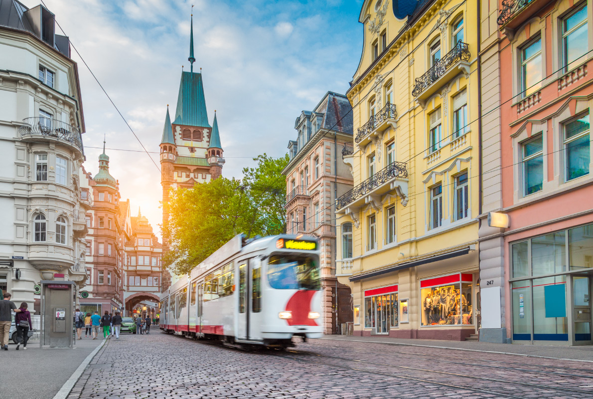 Best trams in Europe - Freiburg im Breisgau Tram Copyright Canadastock - European Best Destinations