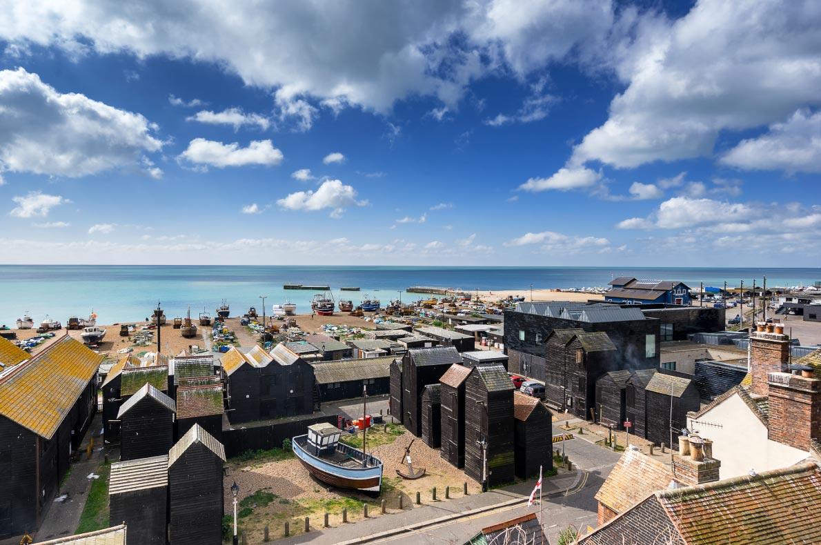 Best hidden gems in England - Hastings Copyright  Gordon Bell - European Best Destinations