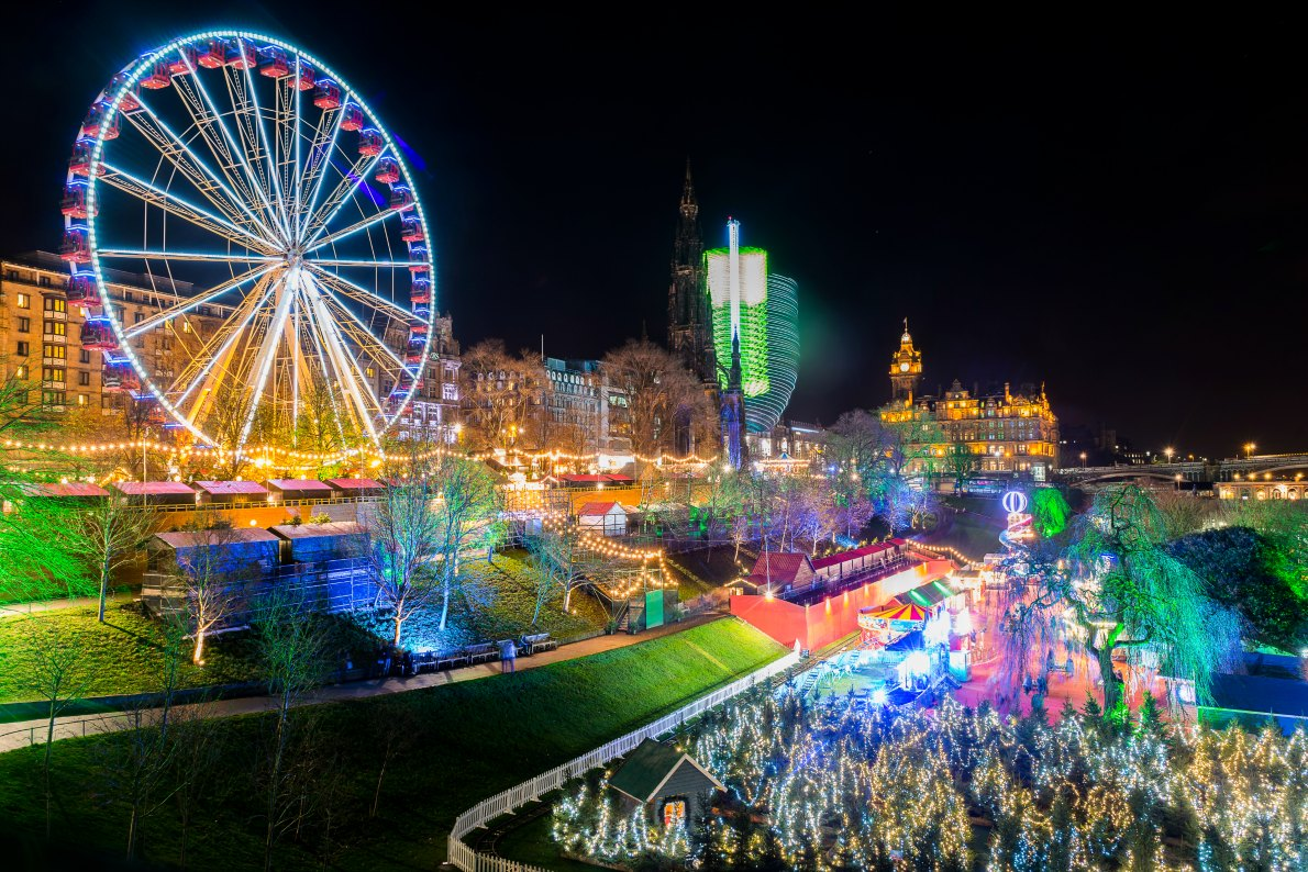 Best Christmas Markets in the United Kingdom - Edinburgh Christmas Market - Copyright Iain Cameron - European Best Destinations