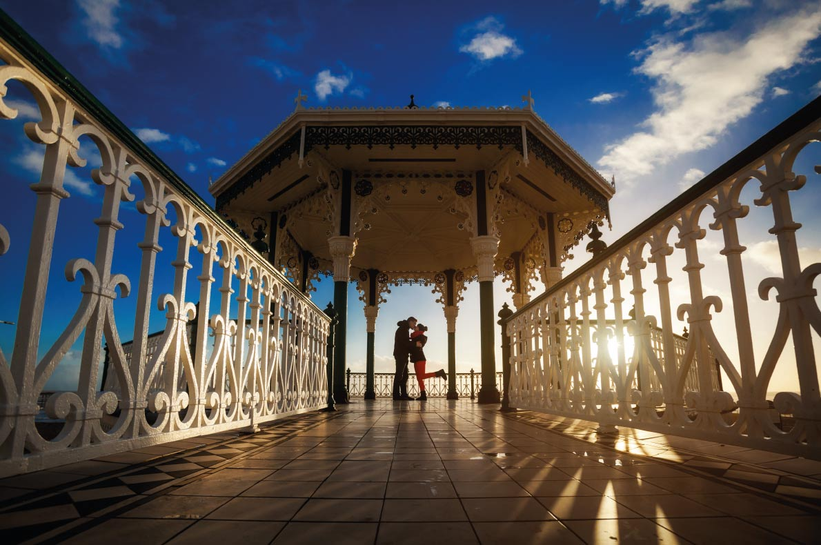 Brighton Pier  - Best destinations for a wedding proposal - Copyright Anna Ewa Bieniek - European Best Destinations