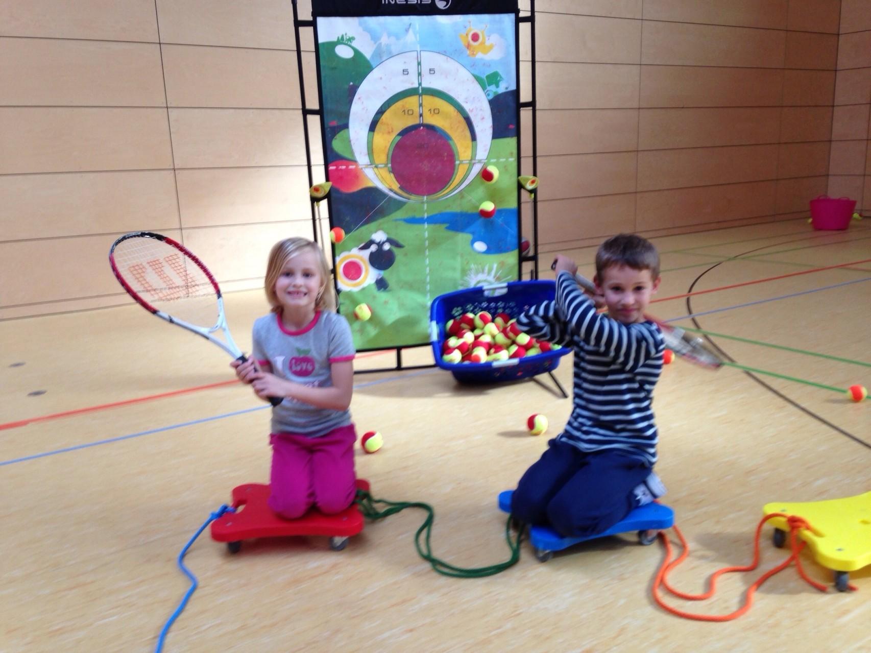 Tennistraining Jugend Wintersaison 2013/2014