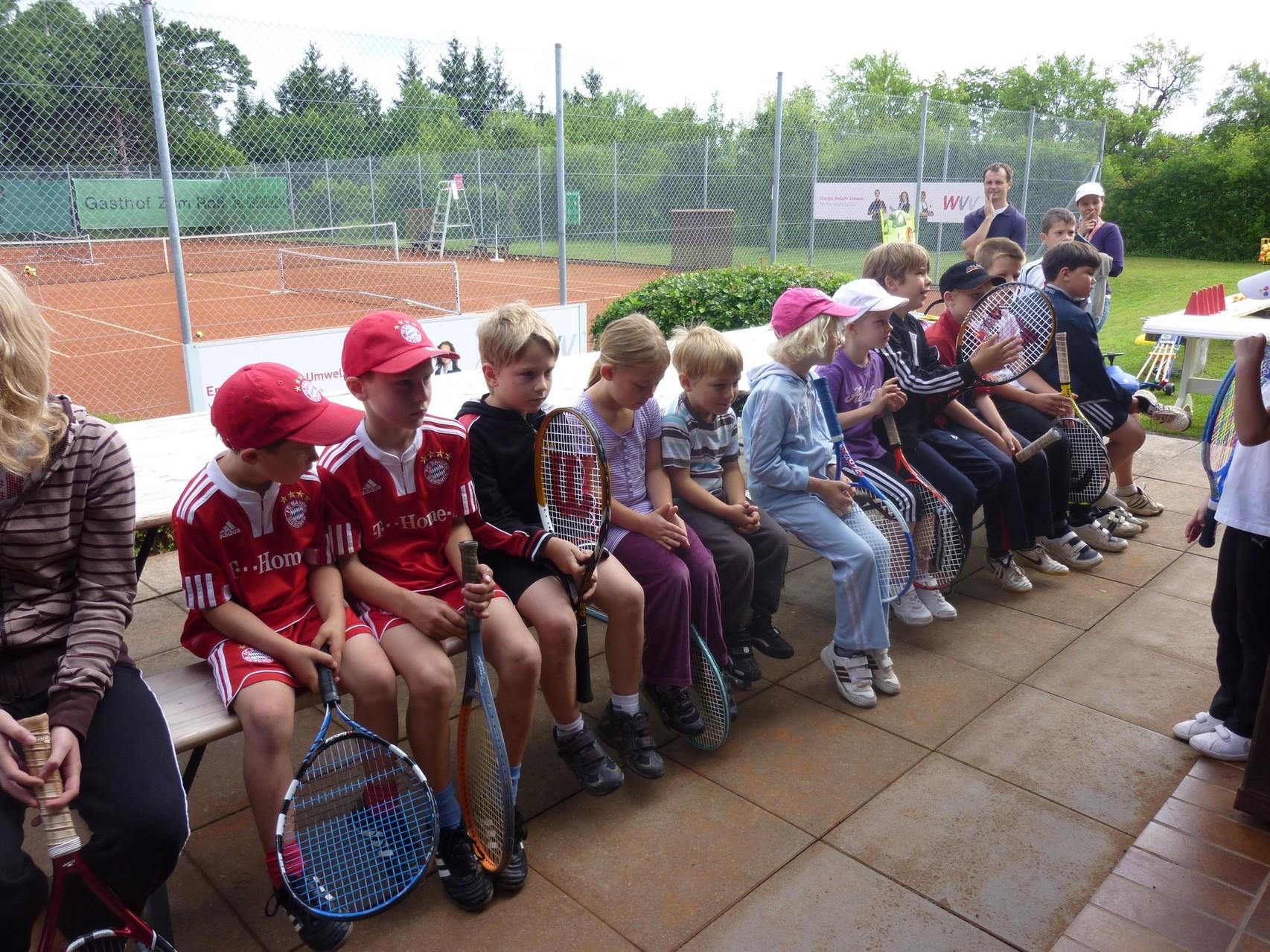 Tennis-Jugendcamp 2012