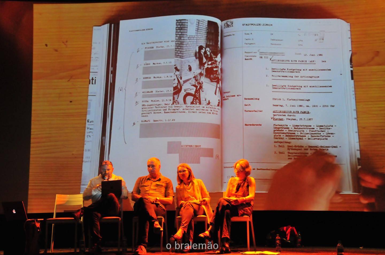 Miklós Klaus Rózsa presenting mkr at Fera Plana in Sao Paolo, Brasilia. January 2016