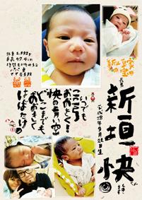 出産祝い 百日祝い 1歳誕生日 命名書 贈る