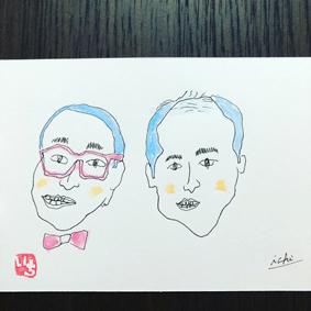 似顔絵沖縄