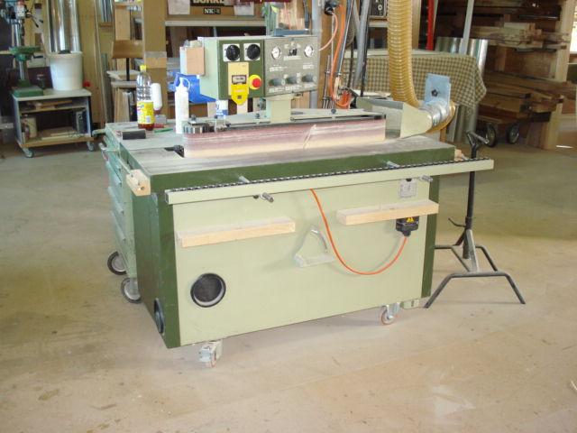 Kanten - Schleifmaschine: Zum schleifen der Kanten und Schweifungen