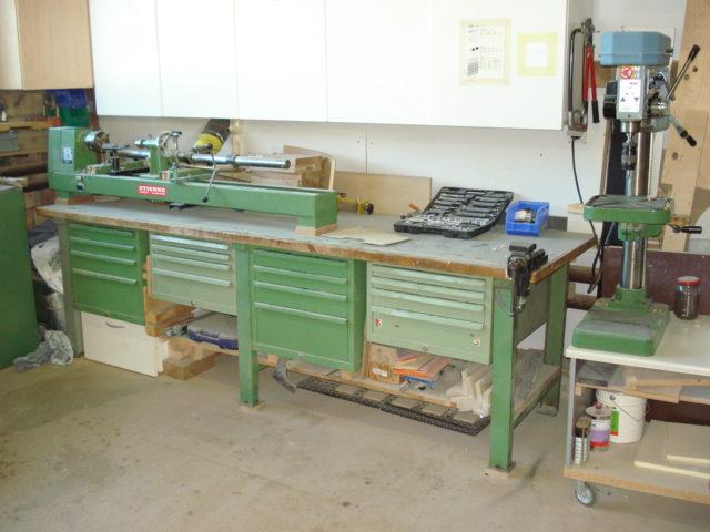 Drechslerbank: Für alle Holzarten und Einzelanfertigungen