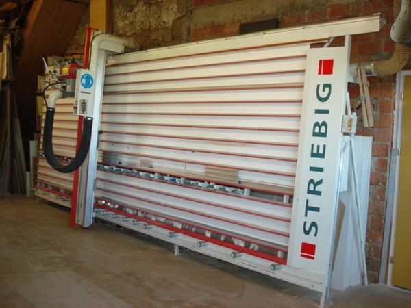 Striebig Plattensäge: Für den Zuschnitt von Spanplatten und Massivholz
