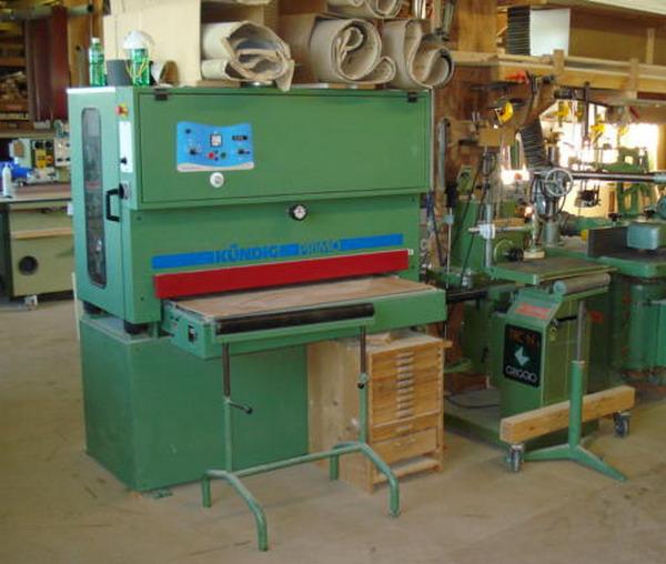 Breitband - Schleifmaschine: Zum genauen kalibrieren und schleifen von Massivholz und Platten