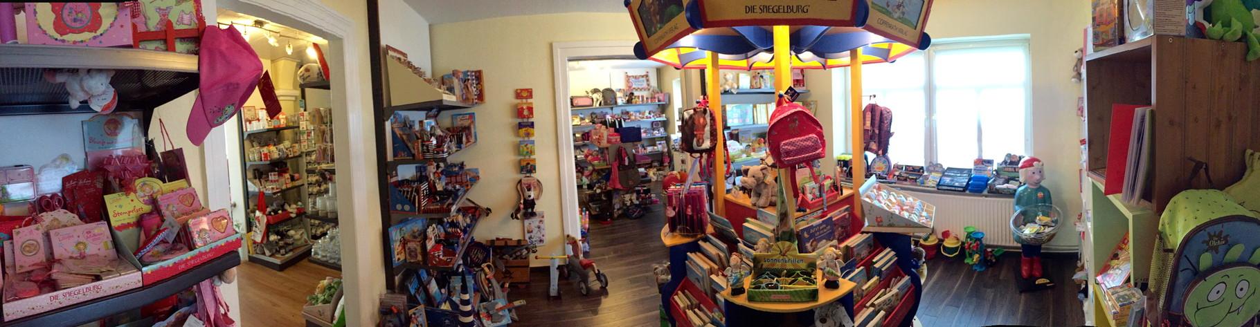 Blick in den Kinderladen