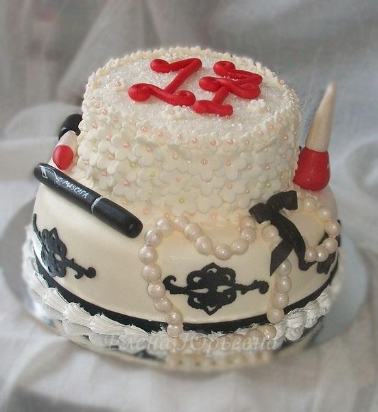 Торт на 17-летие, вес 3,2 кг
