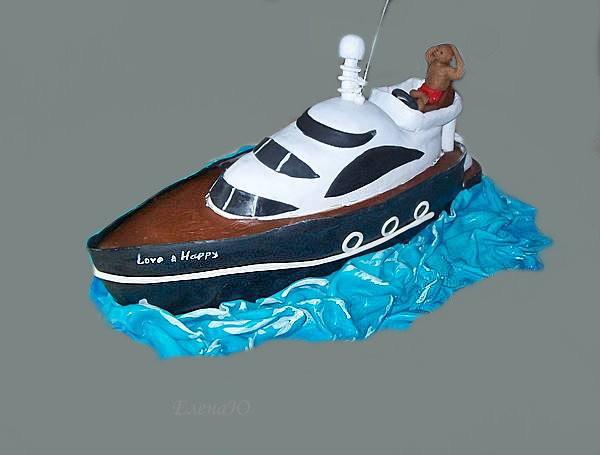 Торт-яхта, 2,5 кг
