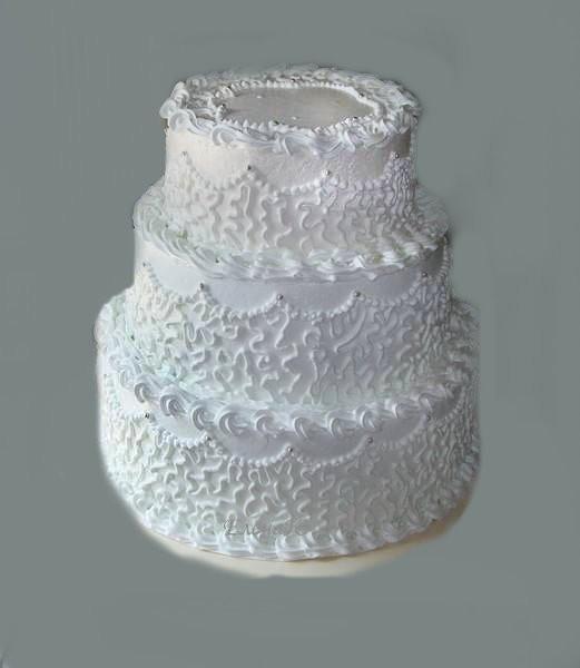 Трех-ярусный торт, 9 кг