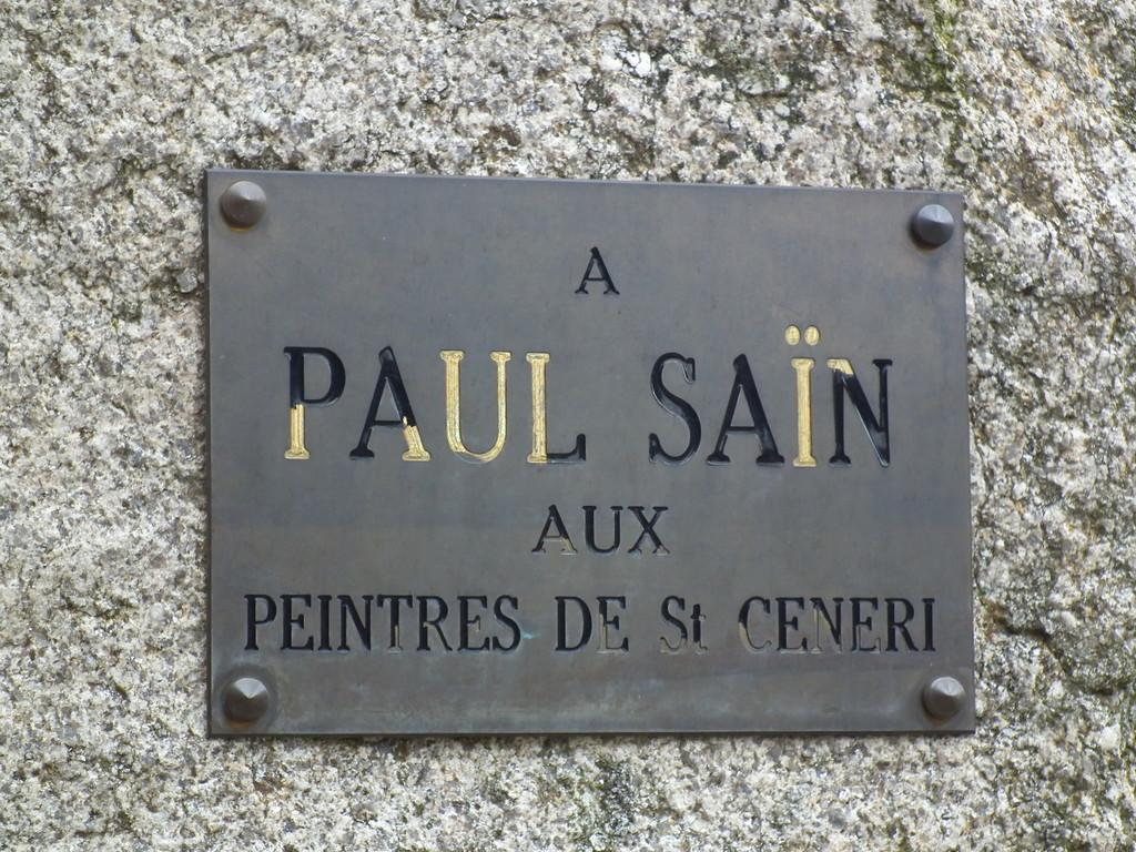 Saint-Céner-le Géreii, village des peintres