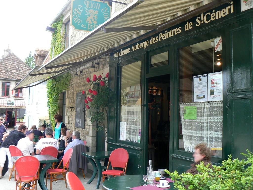 L'auberge des peintres à Saint-Céneri-le-Gérei