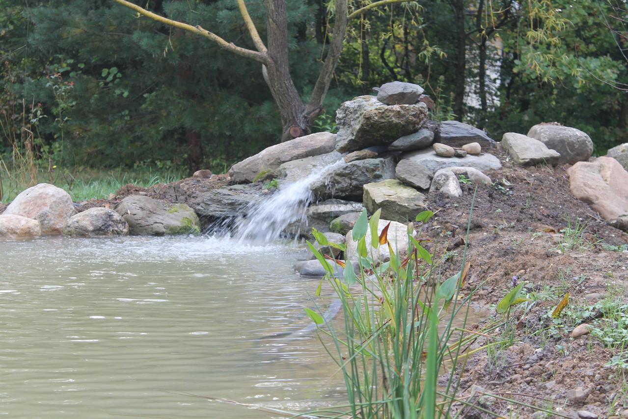 cascade et bassin