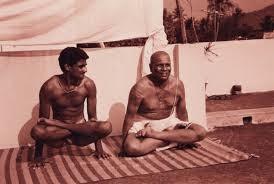 Sharath Rangaswami mit Pattabhi Jois