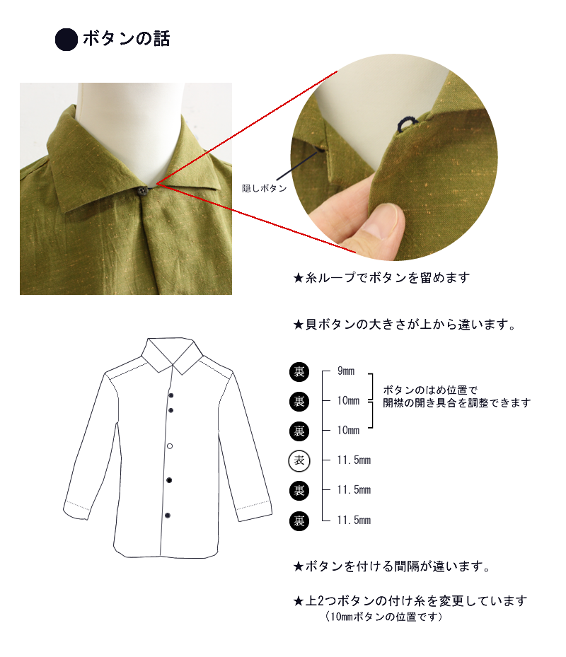遠州織物  ディーエム さえ  オーダーメイド  シャツ
