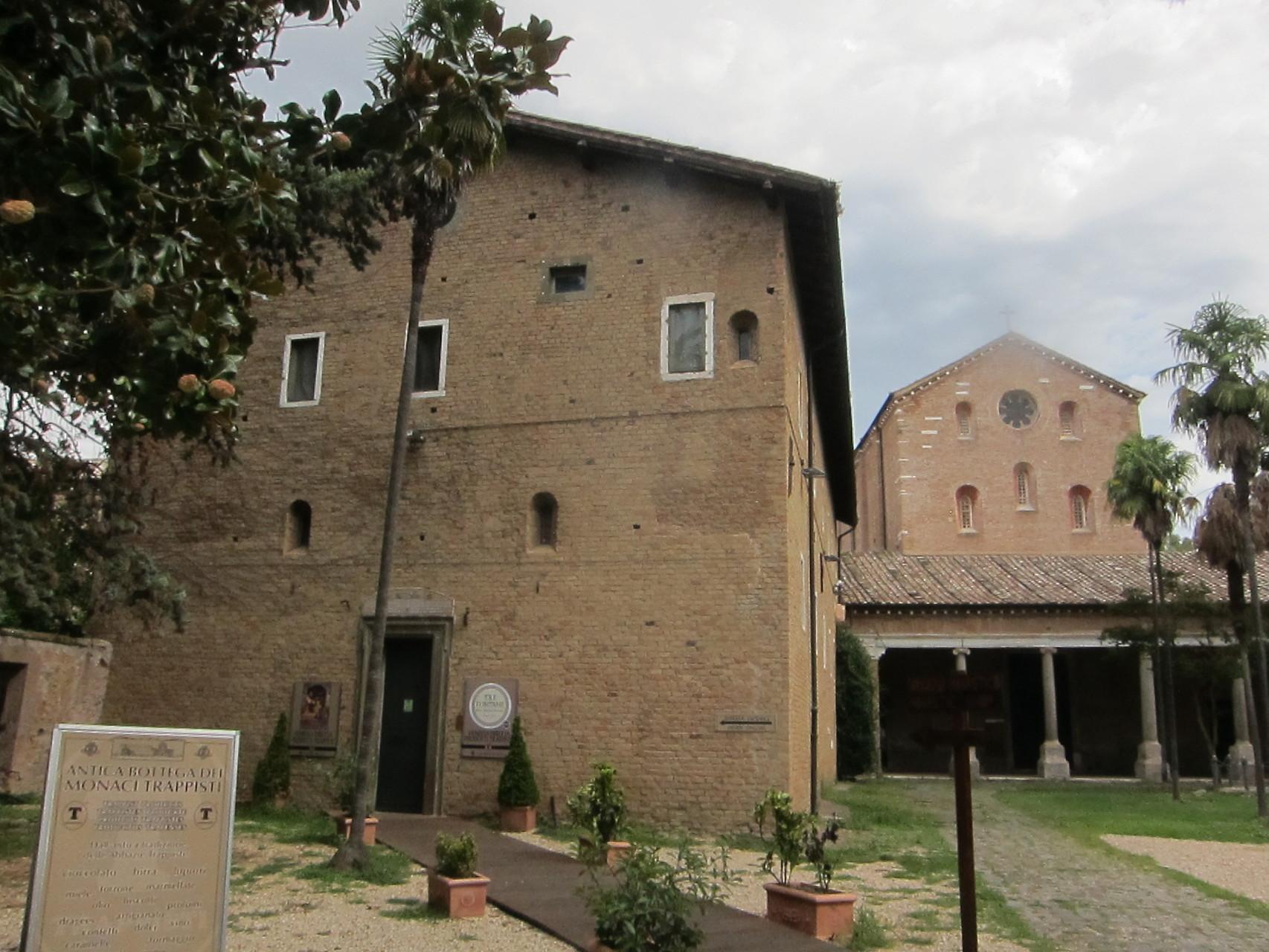 トレフォンターネ 聖パウロが殉教した場です