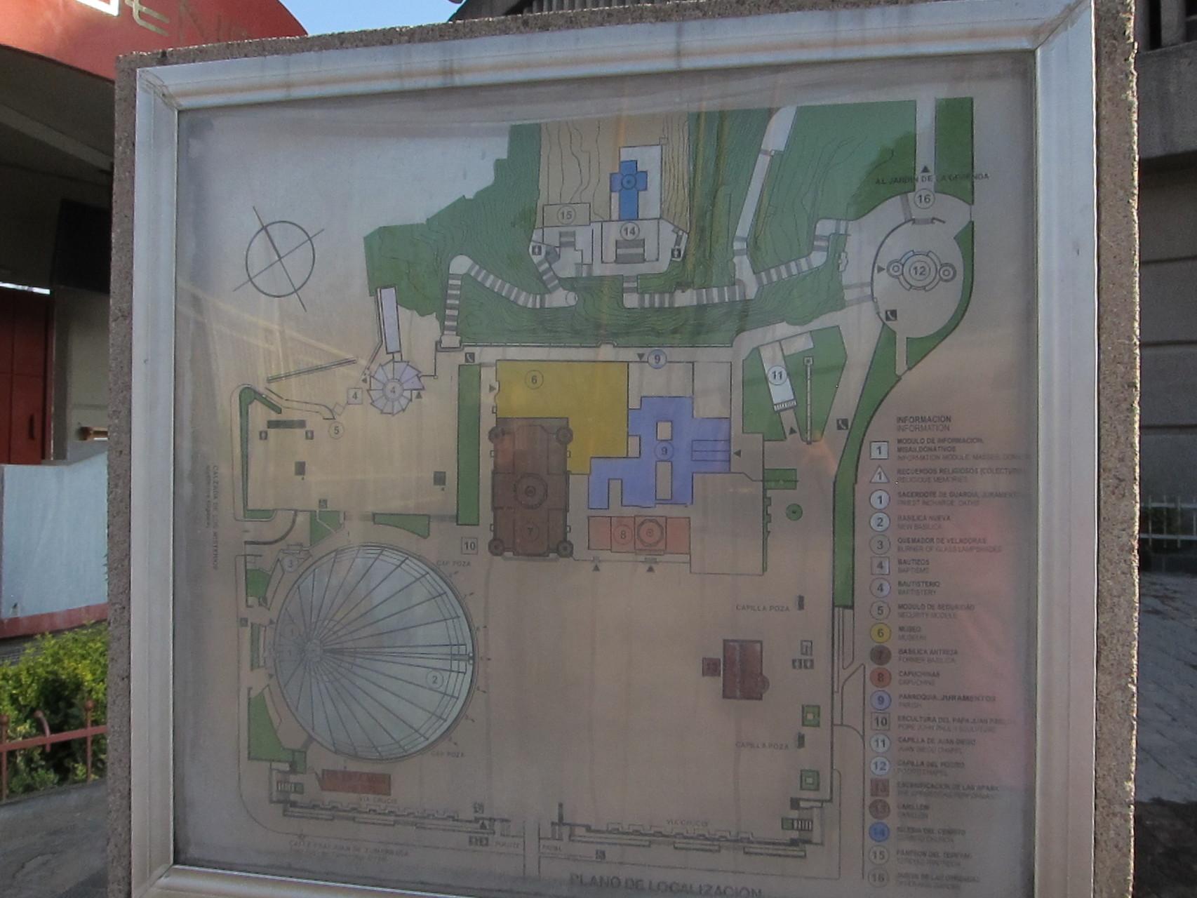 敷地の地図です