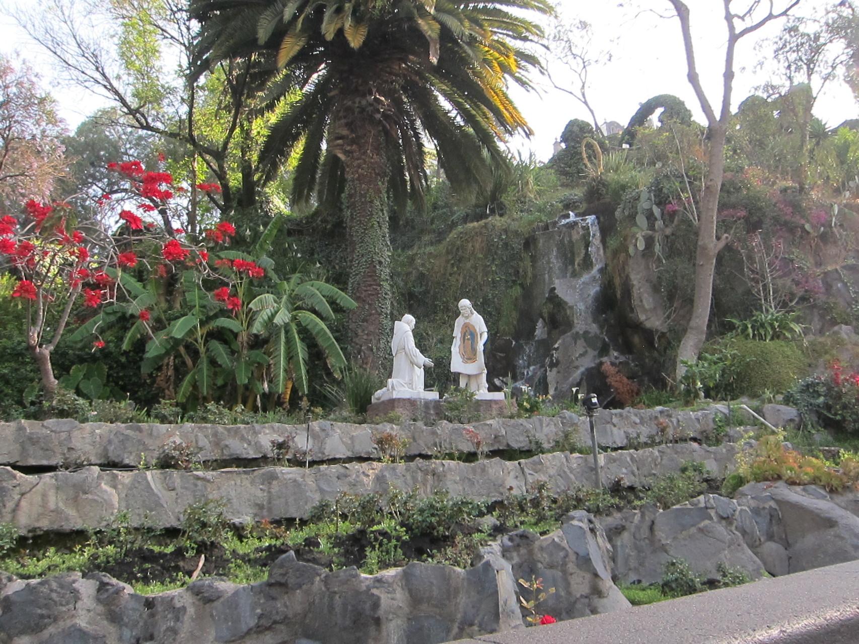 ここがグアタルーペ聖母のご出現場所です