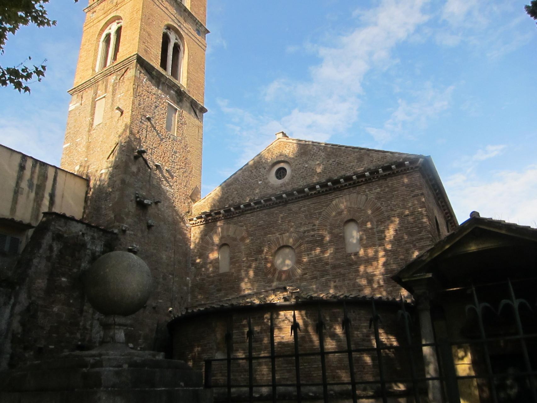 こちらは聖女アグネスの聖堂 サンタネーゼ聖堂