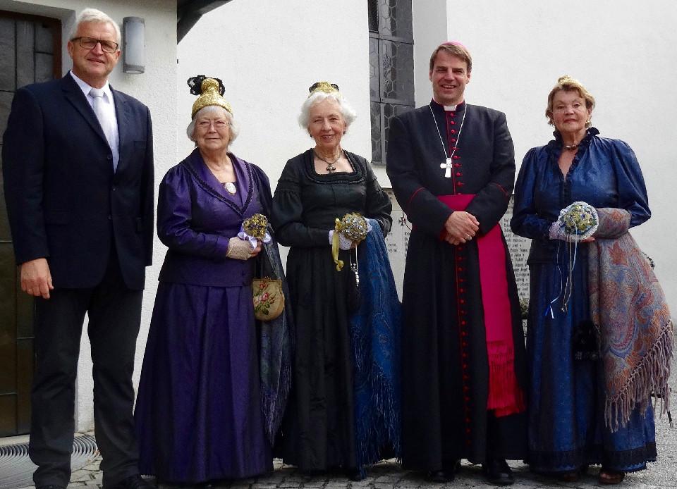 Bischof Stefan suchte den Kontakt zu den Heiningern