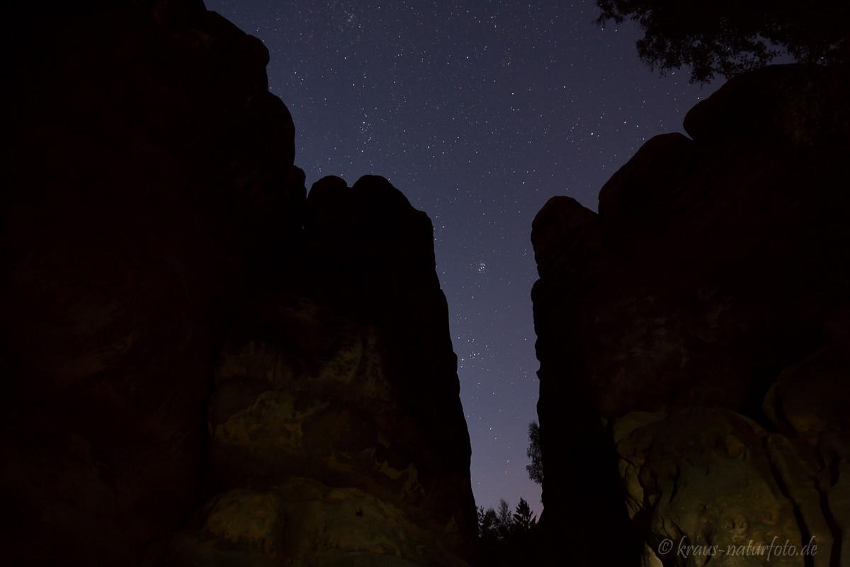 Sternenhimmel am Schrammtor