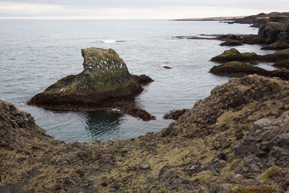 Küste bei Arnastapi