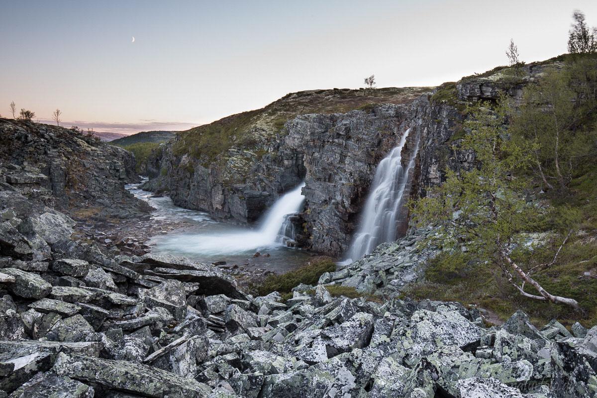 Storulfossen, Rondane