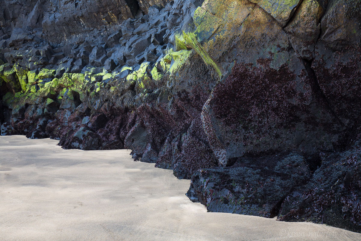 Basalt am Strand