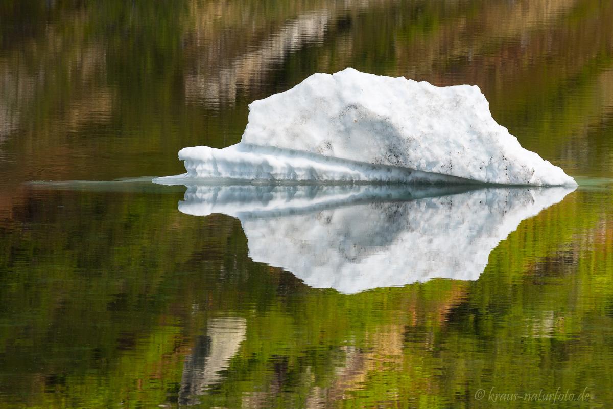 Eisreste am Nystolsvatnet