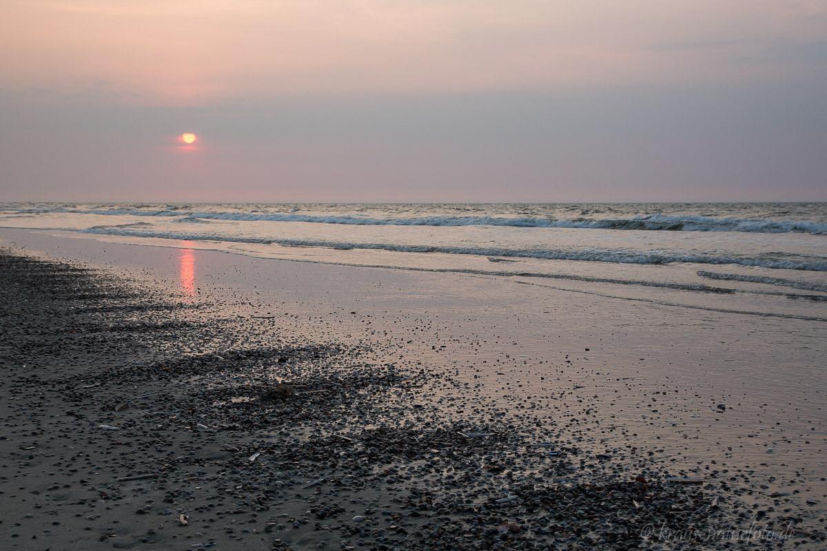 Sonnenuntergang, Norderney