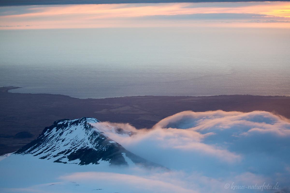 Blick vom Snaefellsjökull