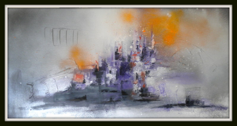 Purple city 80x40 VENDU
