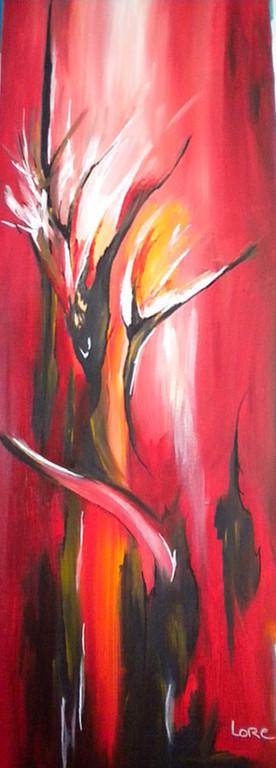 fleurs de lumière  - VENDU