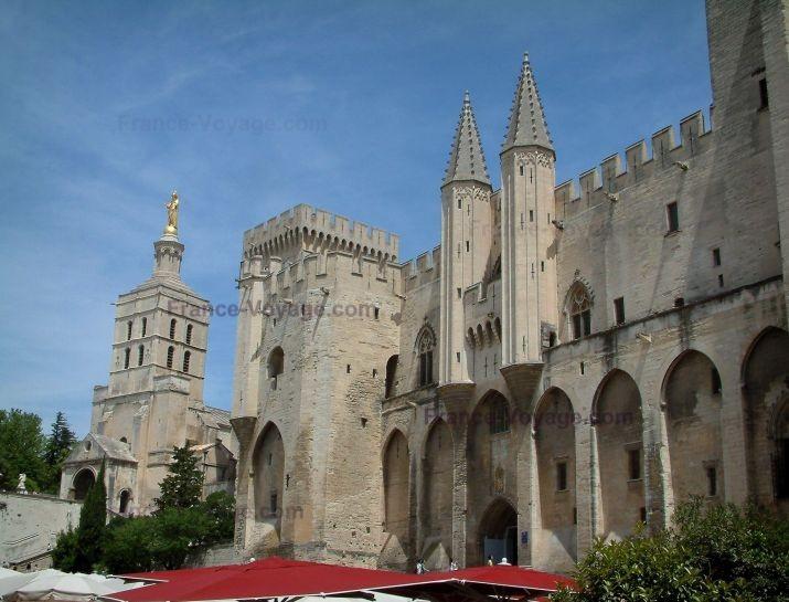Pauselijk paleis Avignon, Vaucluse, Provence, Gîte en vakantiehuis Jas du Ventoux