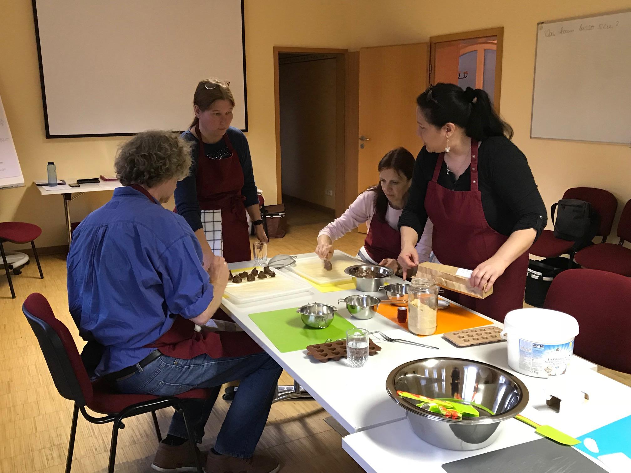 Workshop Schokolade & Pralinen selber herstellen