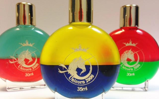 オーラライトカラーセラピー39番イエロー&バイオレットのボトル