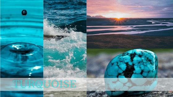 ターコイズの意味は河川や海のイメージから来ています。柔軟性、流れに乗る、そして浄化の意味を持ちます