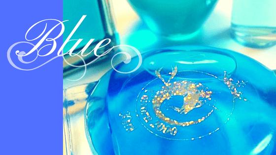 青色は「受容」「精神性」の意味を持つ、第5チャクラの色です