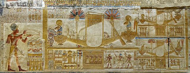 エジプトの神々の色